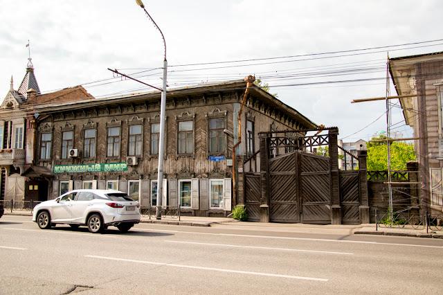 Деревянный дом Красноярск