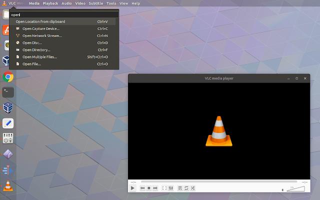 Gnome Shell searchable HUD menu