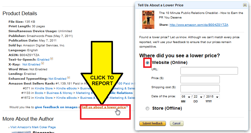 Smashwords: How to Price Kindle Books to FREE without