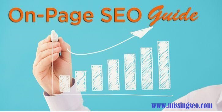 On-Page SEO-www.missingseo.com