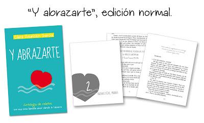 """""""Y abrazarte"""", edición normal - Clara Asunción García"""