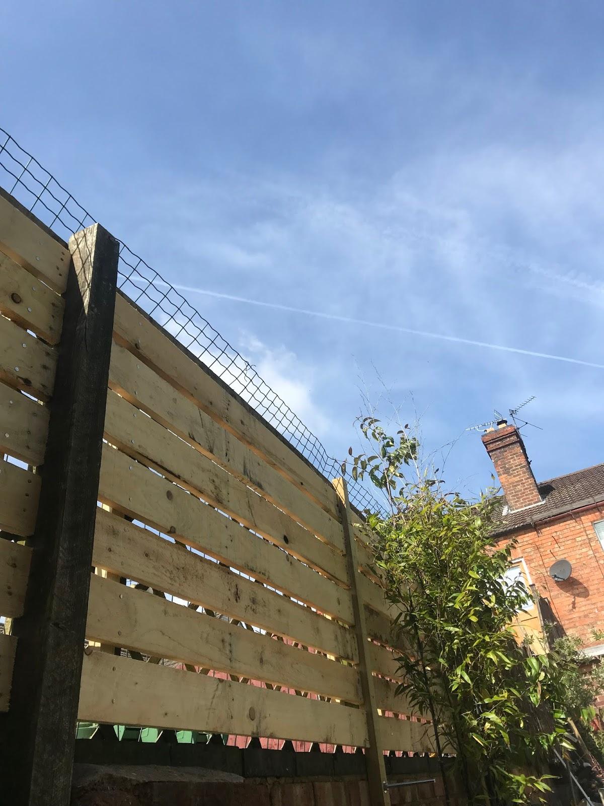 Modern Slat Fence DIY