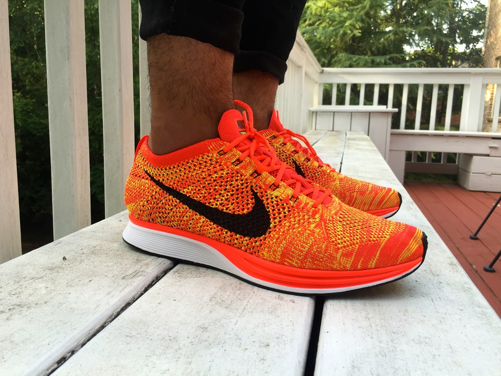 79ee969a98b88 Nike Flyknit Racer Orange Slice endeavouryachtservices.co.uk