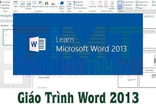 Giáo trình Word 2013