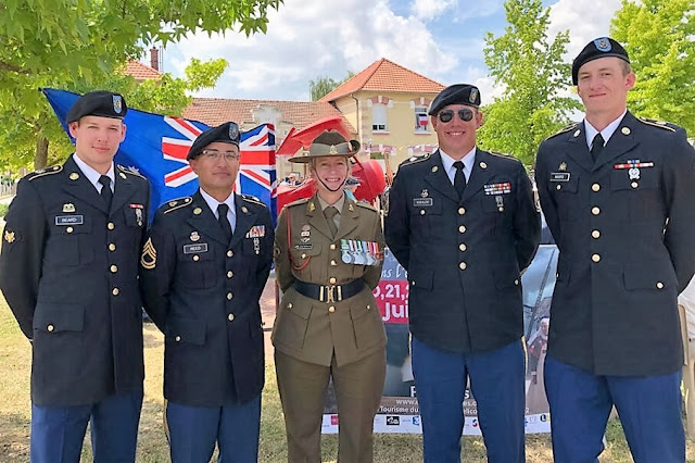East Peoria Soldier travels to northern France to mark 100th anniversary of historic World War I battle, Metamora Herald