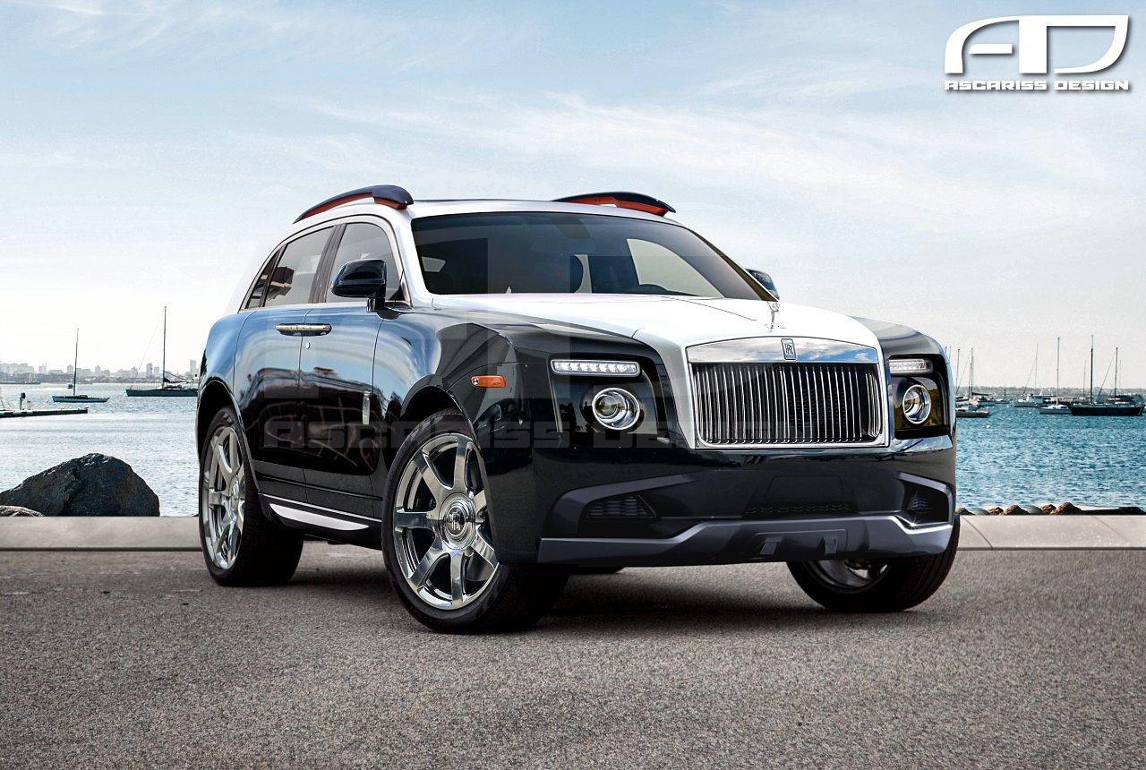 Baby Rolls Royce SUV Concept