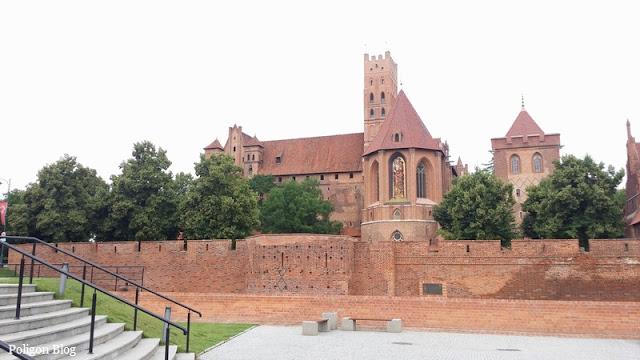Malbork, Żuławy Wiślane, Krzyżacy, zamek