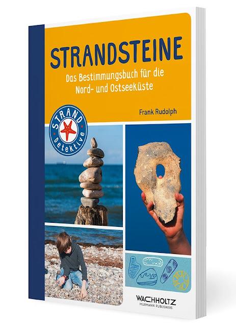 """Das Bücherboot: Kinderbücher aus dem Norden. """"Strandsteine. Bestimmungsbuch für die Nord- und Ostseeküste"""" hilft der ganzen Familie."""