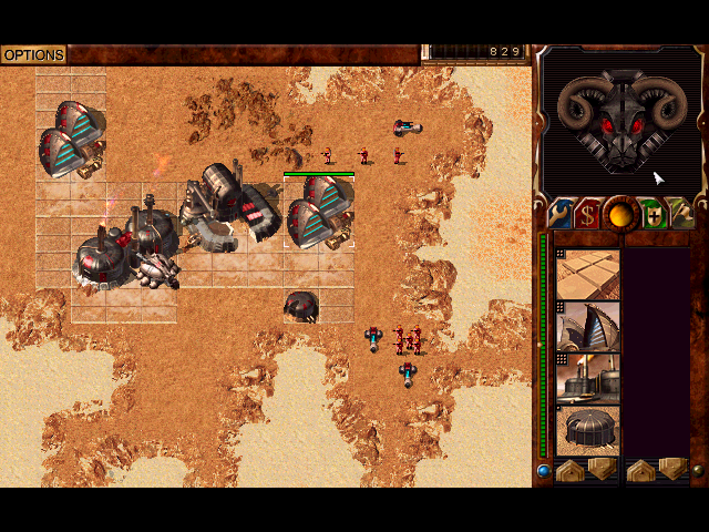 Screenshot from Dune 2000