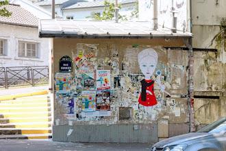 Sunday Street Art : Fred le Chevalier - rue Sorbier - Paris 20
