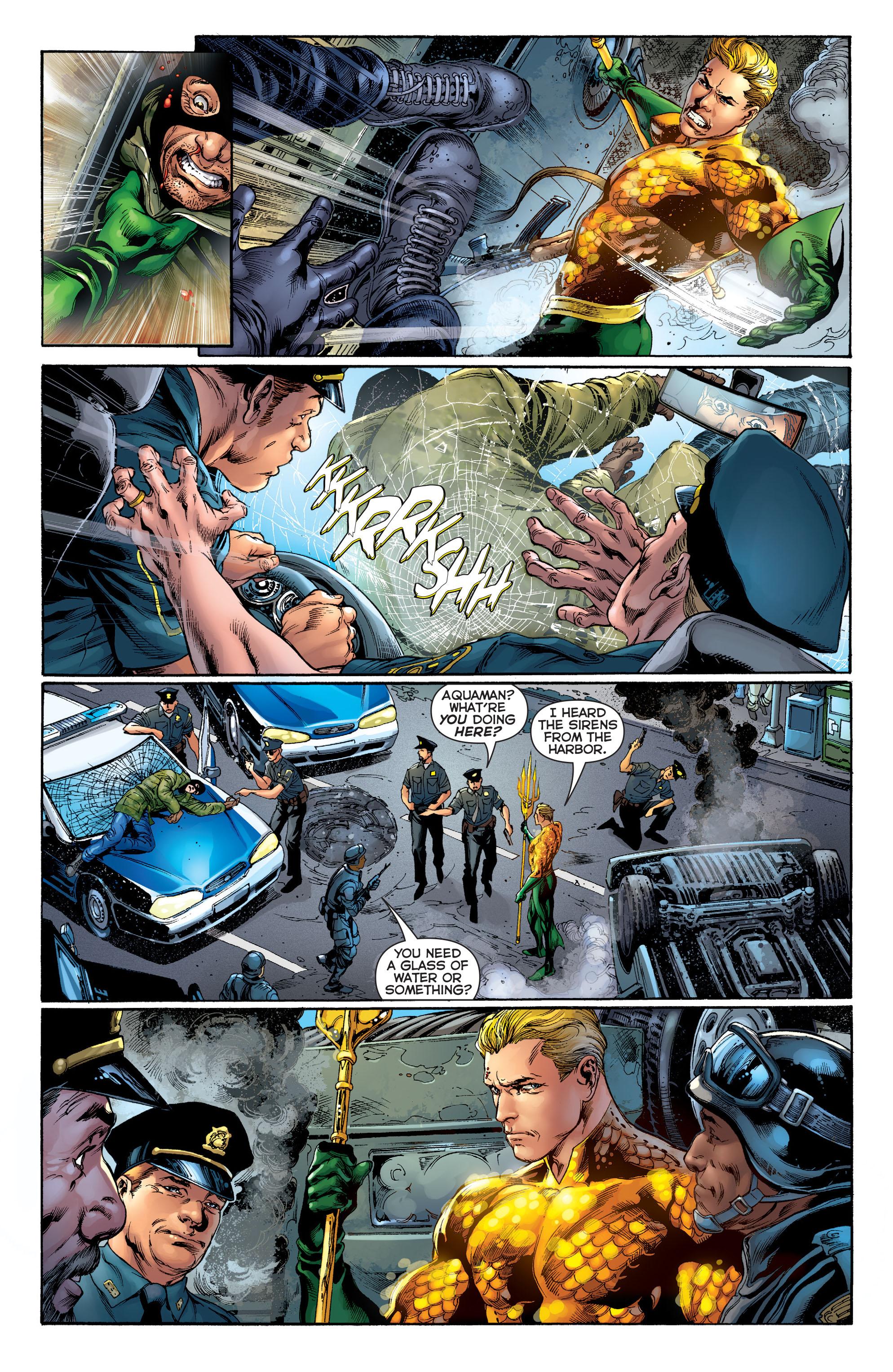 Read online Aquaman (2011) comic -  Issue #1 - 10
