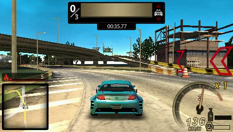 Need For Speed Undercover (PSP )