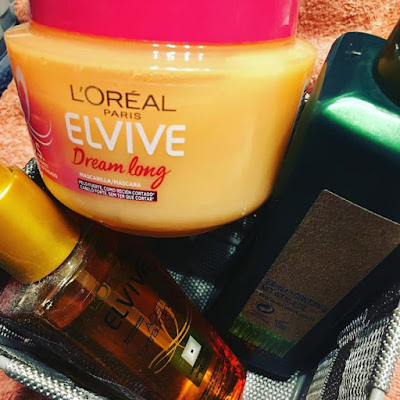 loreal dream long, elvive, aceite capilar, biokera, champú