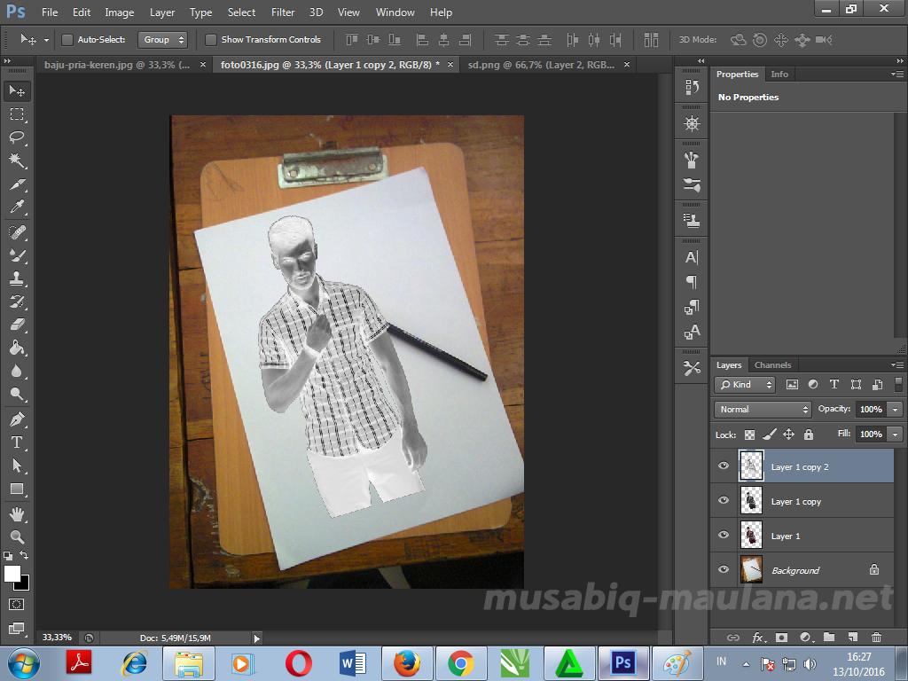 Musabiq-Maulana: Cara Mengubah Foto menjadi Sketsa Pensil di Photoshop