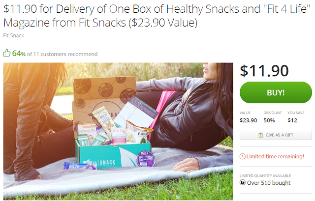 groupon deal fitsnack
