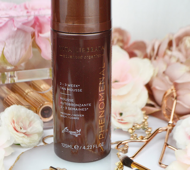 Vita Liberata Phenomenal Tan in Medium Review, from Indulge Beauty, Lovelaughslipstick Blog