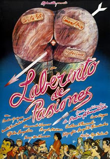 Laberinto de pasiones (1982) Comedia dramatica de Pedro Almodóvar