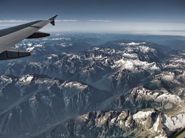 fotografías tomadas desde aviones