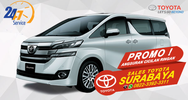 Promo Angsuran Cicilan Ringan Toyota Vellfire Surabaya
