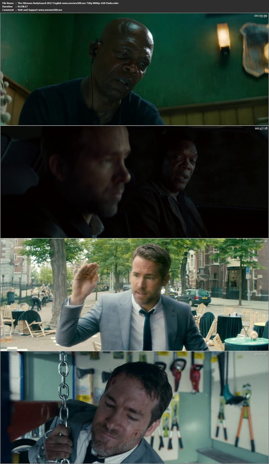 The Hitmans Bodyguard 2017 English Full Movie BRRip 720p ESUbs at movies500.xyz