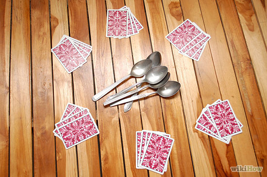 Fun Games Guide How To Play Spoons Card Game