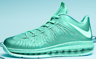 pretty nice 561d0 d349d ... Mint Fiberglass-Poison ,nike ajordanxi Your 1 Source For Sneaker  Release Dates March 2013 Nike Air Max LeBron X Low Crystal MintFiberglass-Poison  Green ...