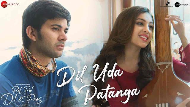 Dil Uda Patanga Lyrics - Pal Pal Dil Ke Paas | Sachet Tandon, Parampara Thakur