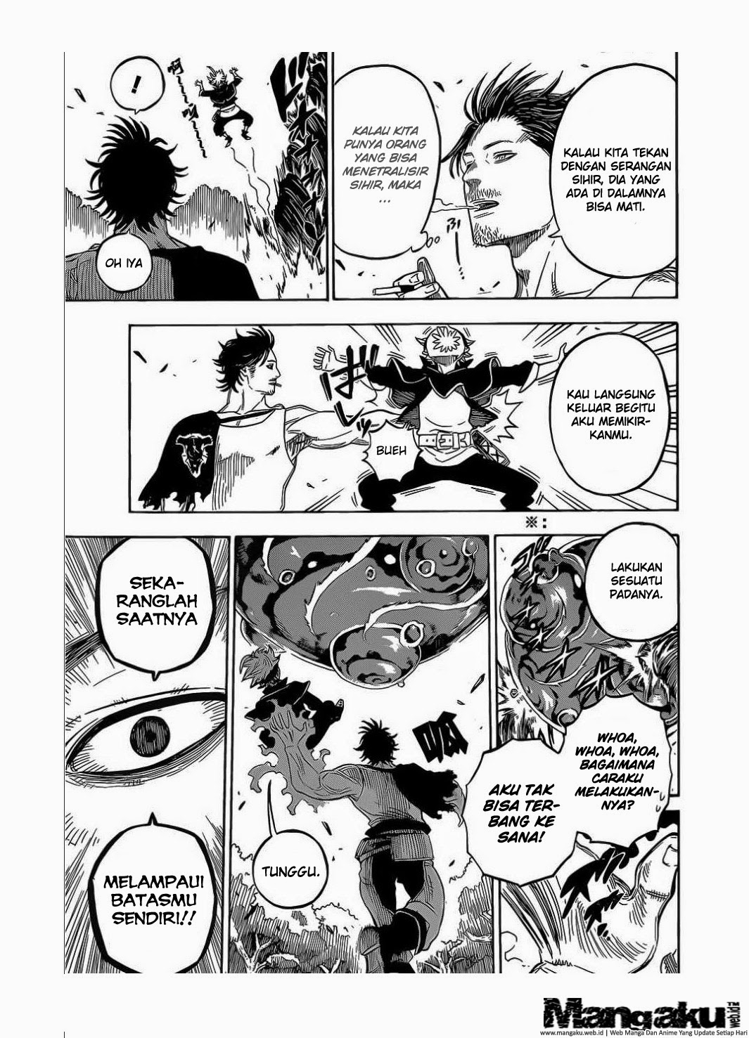 Komik Black Clover Chapter 5 Bahasa Indo