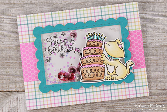 Happy Birthday by Juliana featuring Newton Loves Cake by Newton's Nook Designs, #newtonsnook