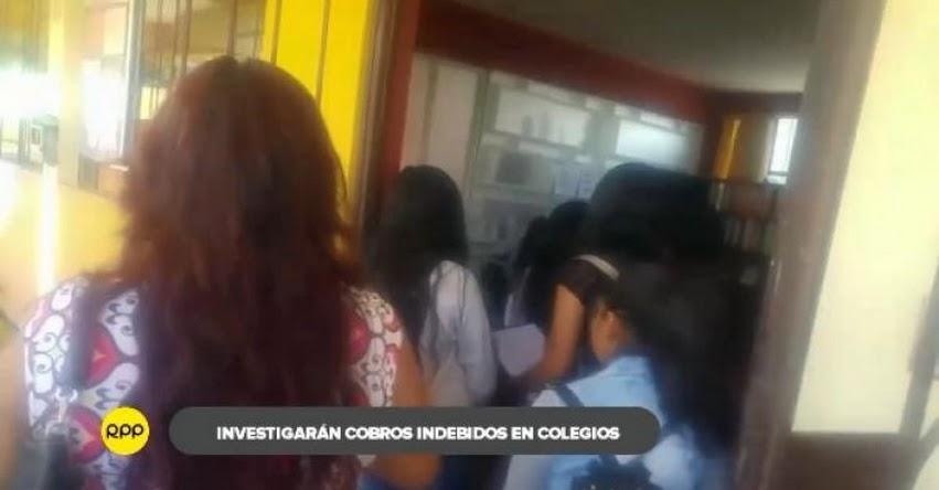 GRE Arequipa investigará y sancionará condicionamiento de matrícula escolar en la región