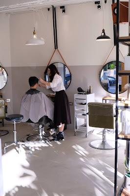 天母Comma Hair髮廊環境實拍