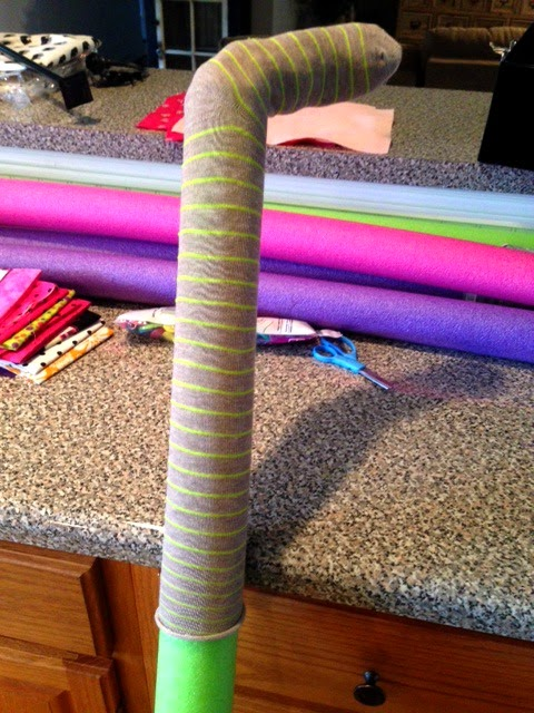 The Super Messy Supermommy Diy Pool Noodle Horses