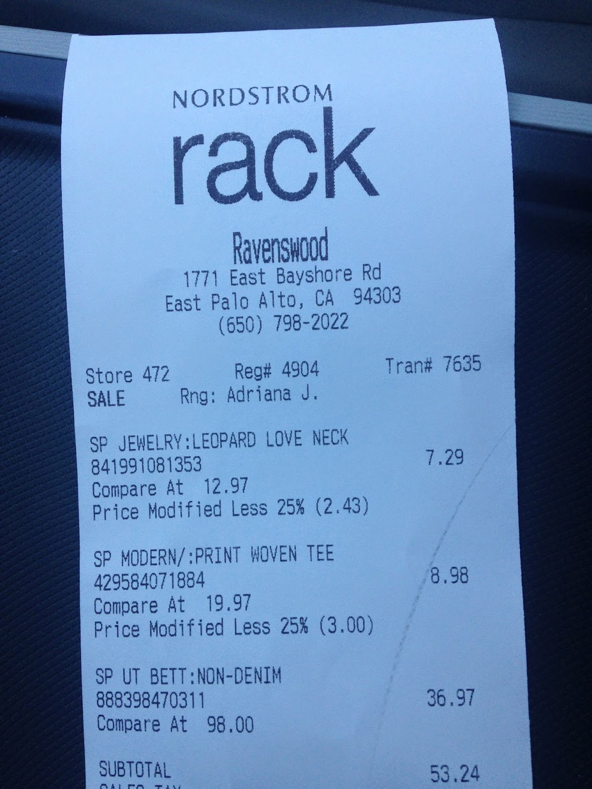 615fcce80fb nordstrom rack email receipt - Racks Blog Ideas