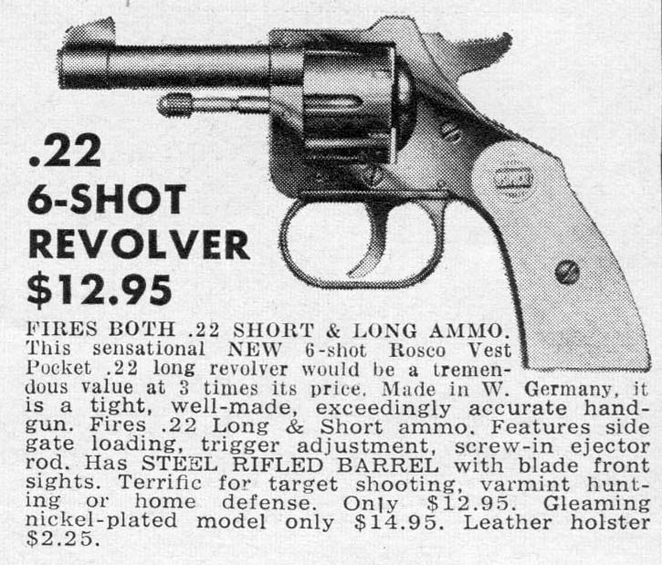 Ammo And Gun Collector Rohm Model Rg 10 22 Short
