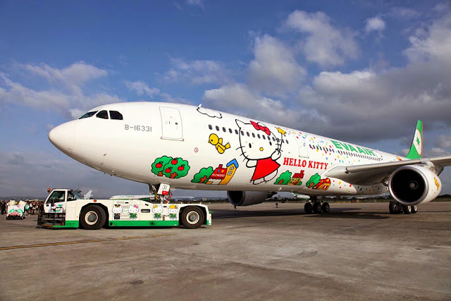 Singapore Hello Kitty Plane