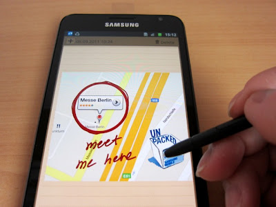 samsung galaxy note smart pen