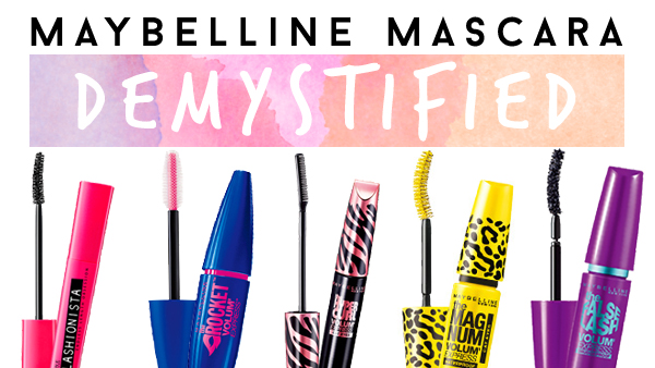 03b40a5dc0c Differences Between MAYBELLINE Mascaras | MADOKEKI makeup reviews ...