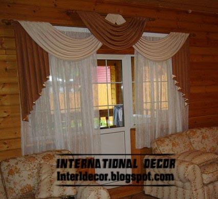 Top Living Room Curtain Model With Unique Draperies Design