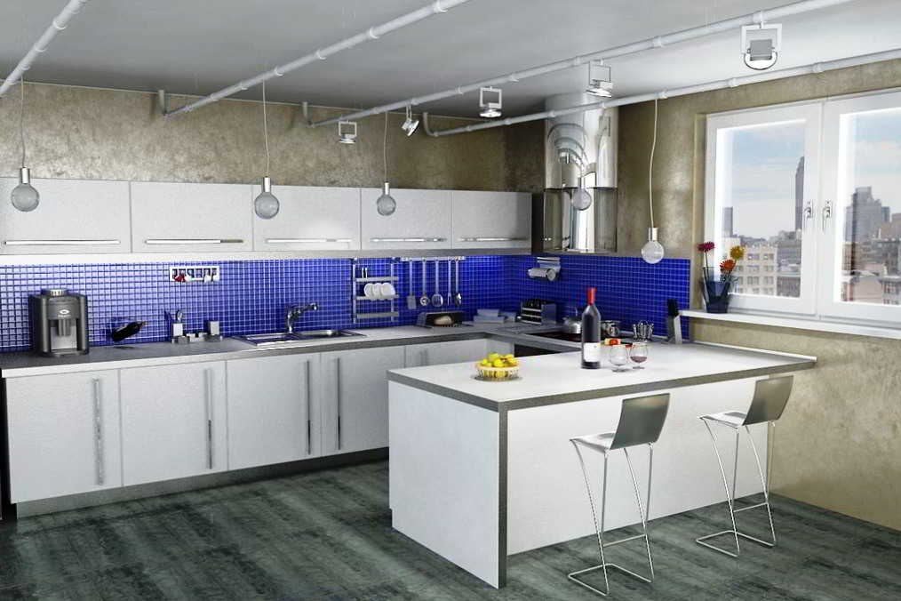 Desain Dapur Sederhana Menyatu Dengan Dapur