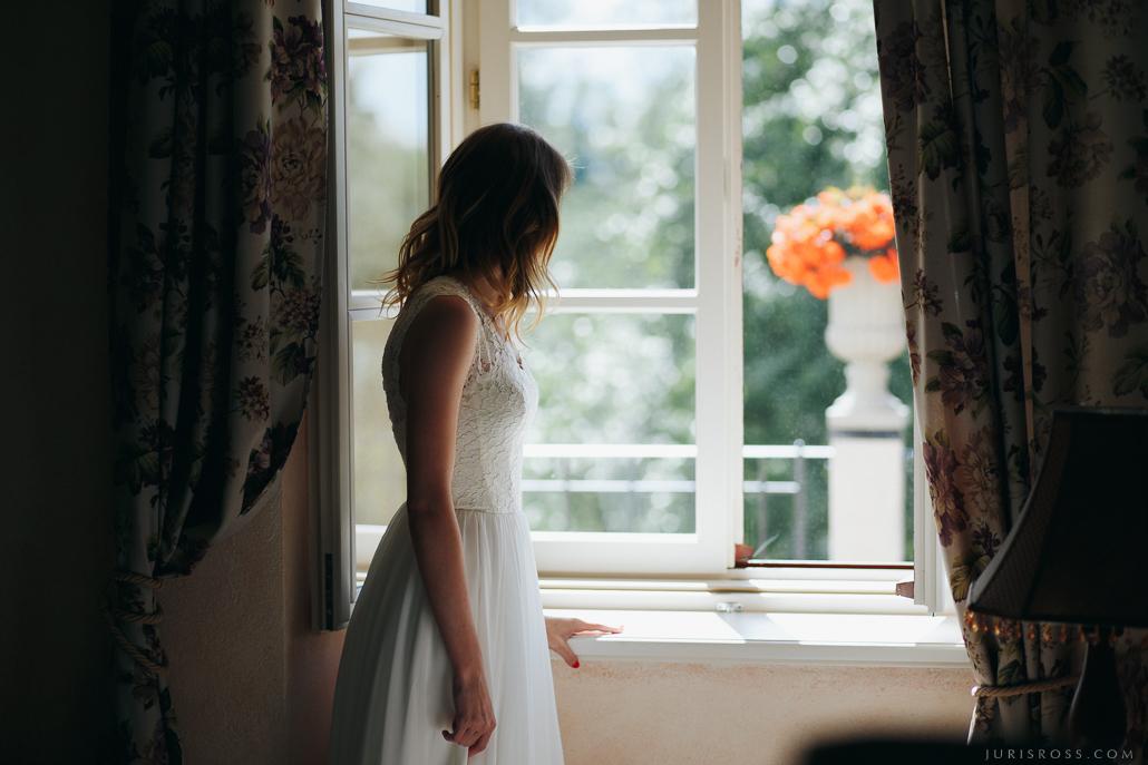 uztraukums kāzu dienā