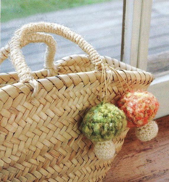 Colgante Seta de Crochet