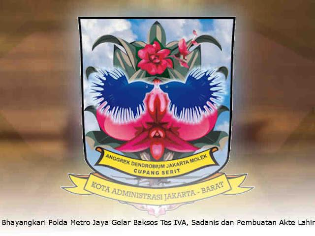 Bhayangkari Polda Metro Jaya Gelar Baksos Tes IVA, Sadanis dan Pembuatan Akte Lahir