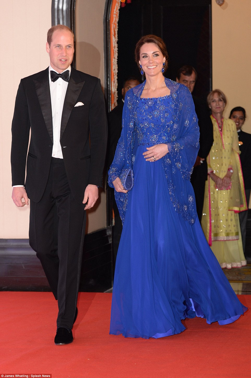 Duchess Kate and Prince William in India, Kate Middleton's tour of India