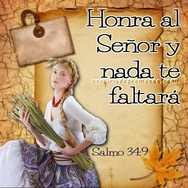 dios bendice al que le honra mensajes cristianos con imágenes