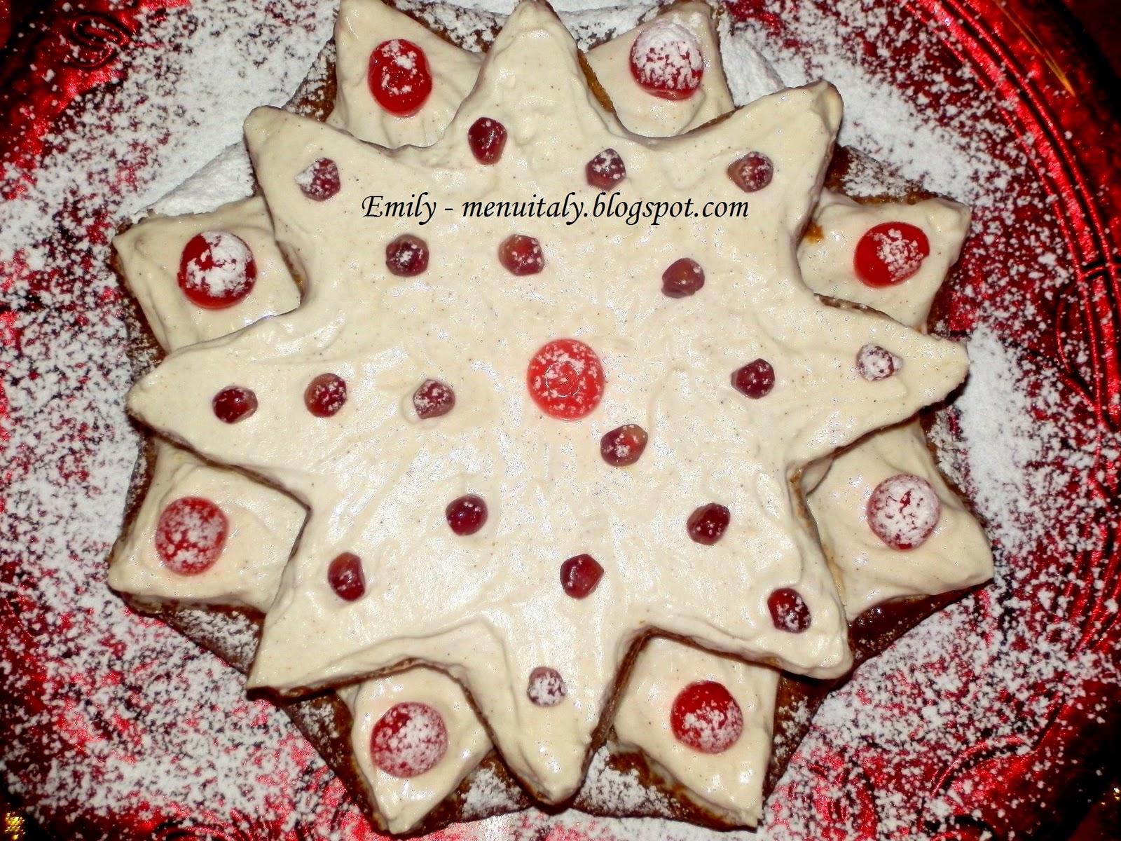Dolce Stella Di Natale Ingredienti.Emily S Menu Italy Crema Di Ricotta Per La Torta Stella Di Natale