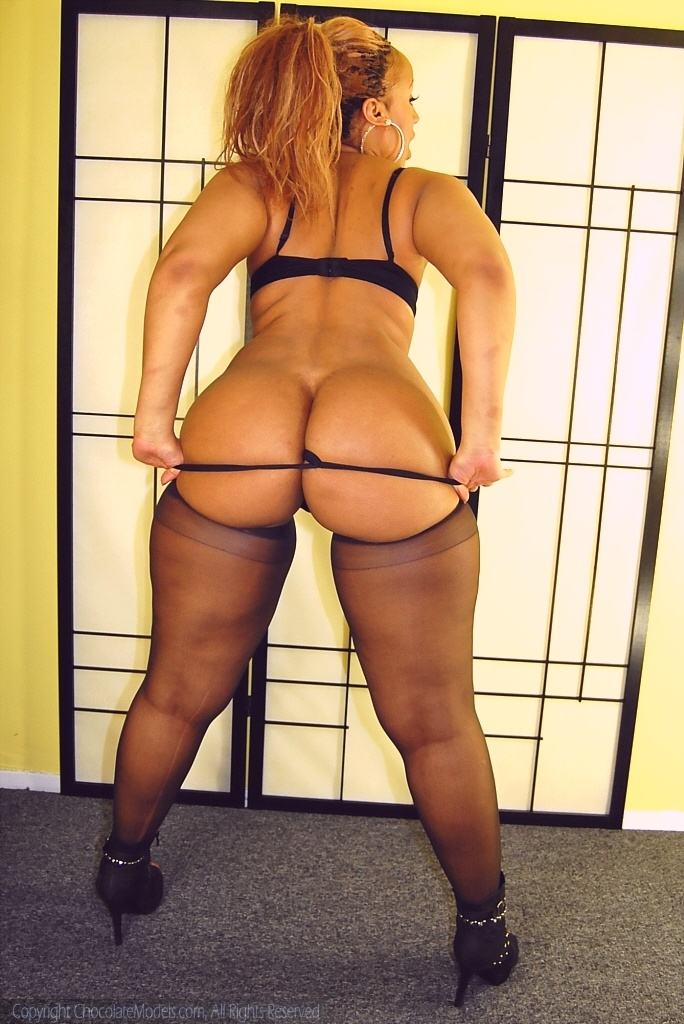 Big Booty Chocolate Girl