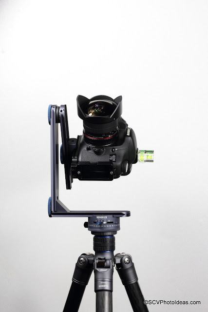 Novoflex Panorama=Q 6/8 II shooting Zenith A with VR System-Slim head and EOS 7D + SY 8mm Fish-Eye
