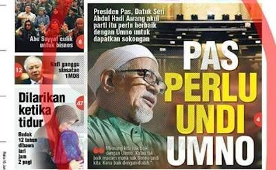 Image result for PAS ingin lihat UMNO menang