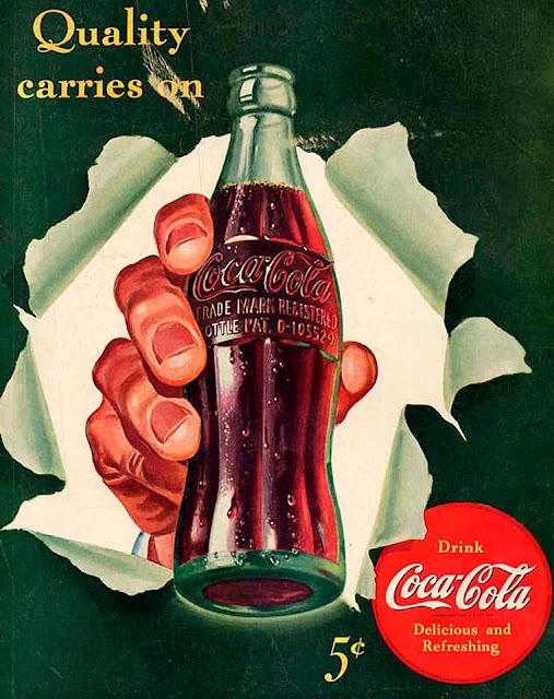 A história da Coca Cola através da propaganda