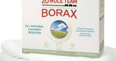 30 Little Known Uses For Household Borax Recipes